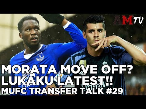 Morata Move Off? | Lukaku Latest! | MUFC Transfer Talk #29