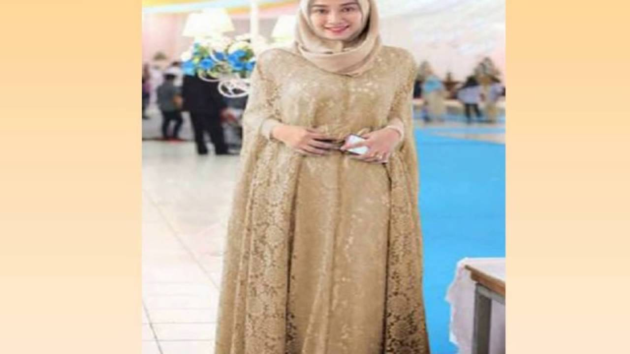 0815 1590 2487 I Sat Gamis Brokat Kombinasi Satin Youtube