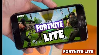 FortNite Lite Download On Android