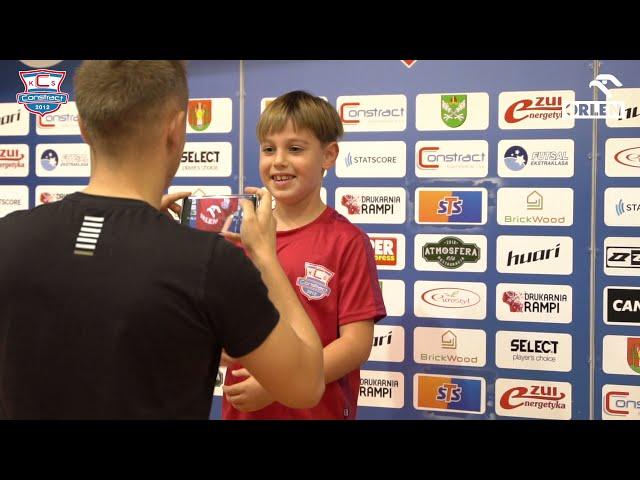 PKN Orlen - partner piłkarskich szkoleń sportowych dzieci i młodzieży w klubie Constract Lubawa.