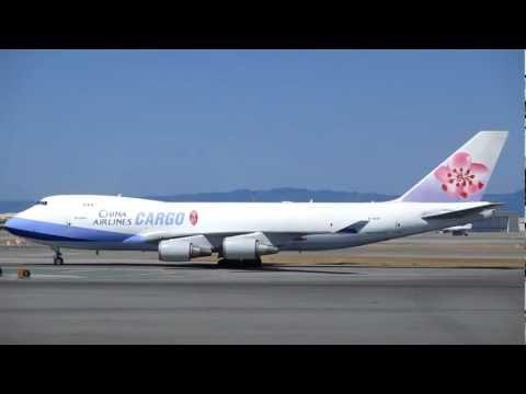 China Airlines Cargo Boeing 747 San Francisco International Airport California