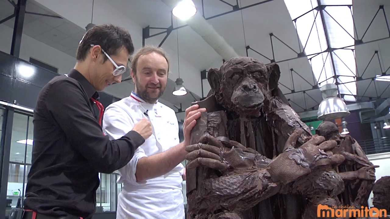 chocolat patrick roger d voile ses sculptures de. Black Bedroom Furniture Sets. Home Design Ideas