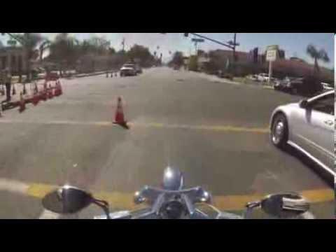 """San Bernardino, CA. Ride Down Main Street """"E"""" Street"""