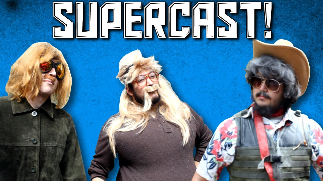 "Chip Bowdrie Supercast! with chip and marshal s1 ep1 ""beginnings ... Uberhaxornova Logo"