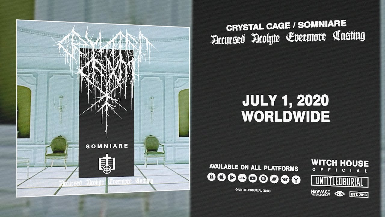 Crystal Cage / Somniare — Accursed Acolyte Evermore Casting (2020) [Album Teaser]