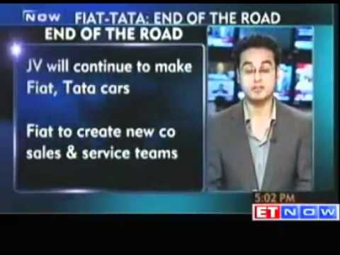 Fiat and Tata Motors end distribution pact in India