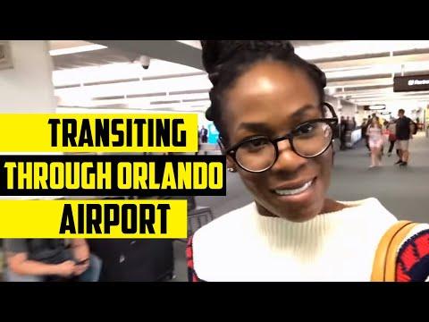 Transiting Through Orlando Airport   Episode #22