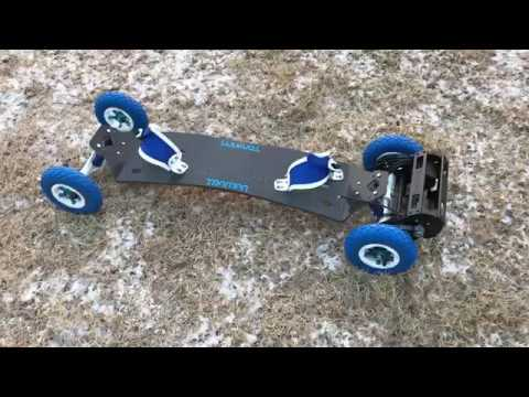 DIY Electric Mountain Board Kit Preview with Pictures - YouTube