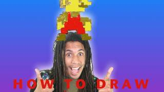 Download How To Draw 8 Bit Mario MP3, MKV, MP4 - Youtube to MP3