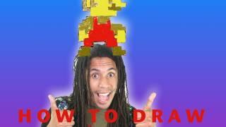 How to Draw 8 bit Mario
