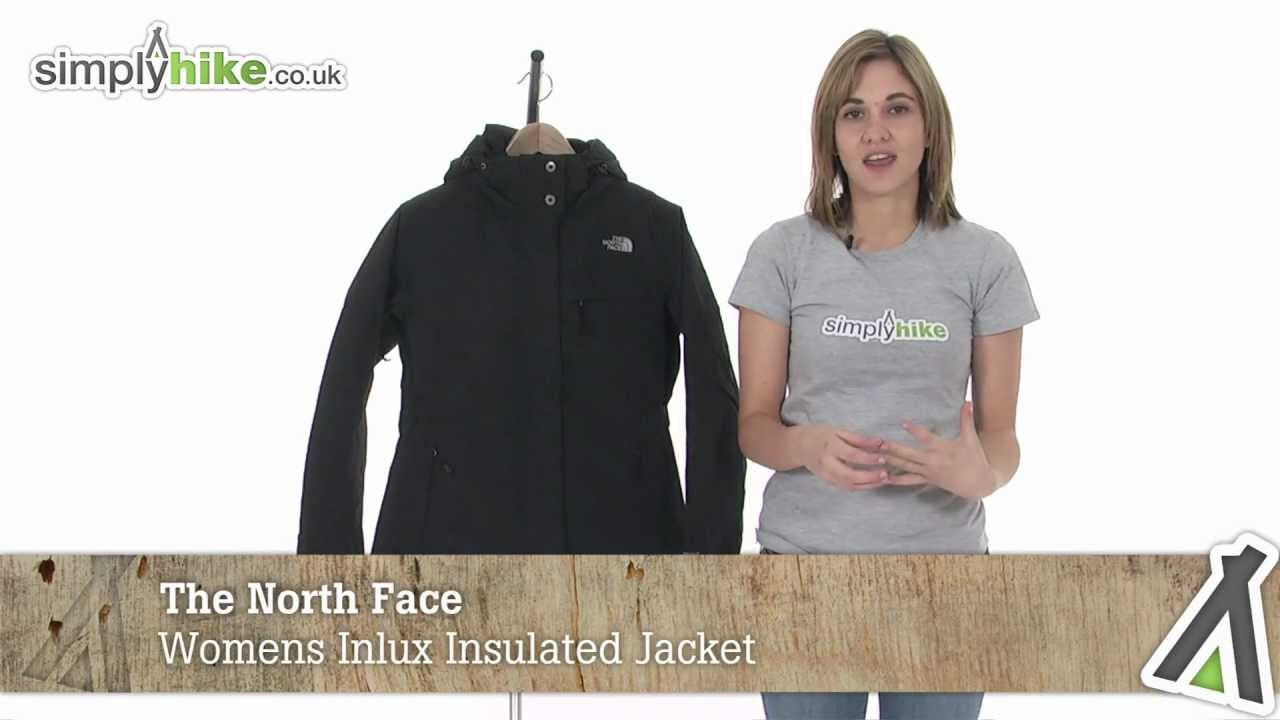 30cb4d8ebb5b The North Face Womens Inlux Insulated Jacket - www.simplyhike.co.uk ...
