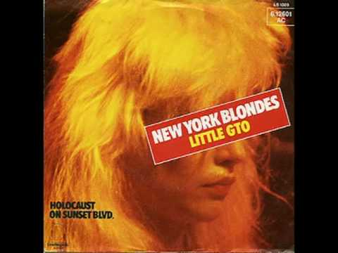 New York Blondes Little Gto Youtube