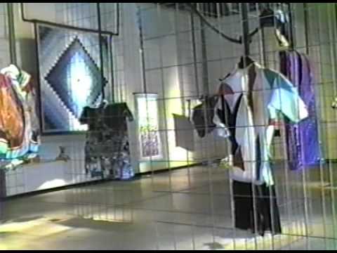 1988 Fashion Show for the Fresno FiberArts Guild.