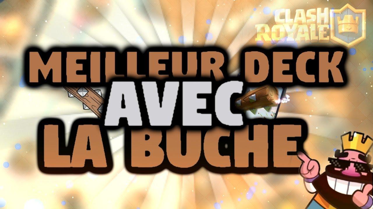 Meilleur deck avec la b che clash royale youtube for Meilleur deck arene 4
