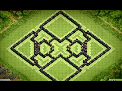 Clash Of Clans - Great Town Hall 10 Trophy Base (Enyo) Speed Build [BvB9]