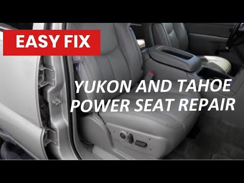 GMC POWER SEAT REPAIR- -DIY