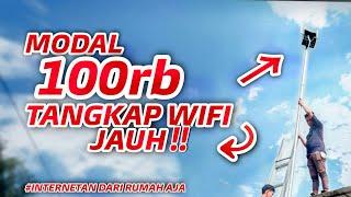 Tutorial Cara tangkap sebar Wifi hanya 100.000 | Tenda n301 | Mode WISP