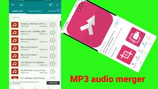 MP3 audio merger and Joiner