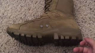 New 2018 McRae Terassault T1 Army Combat Boots Review