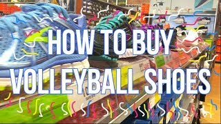 How To Buy Volleyball SHOES! ⎮KOKO Volley