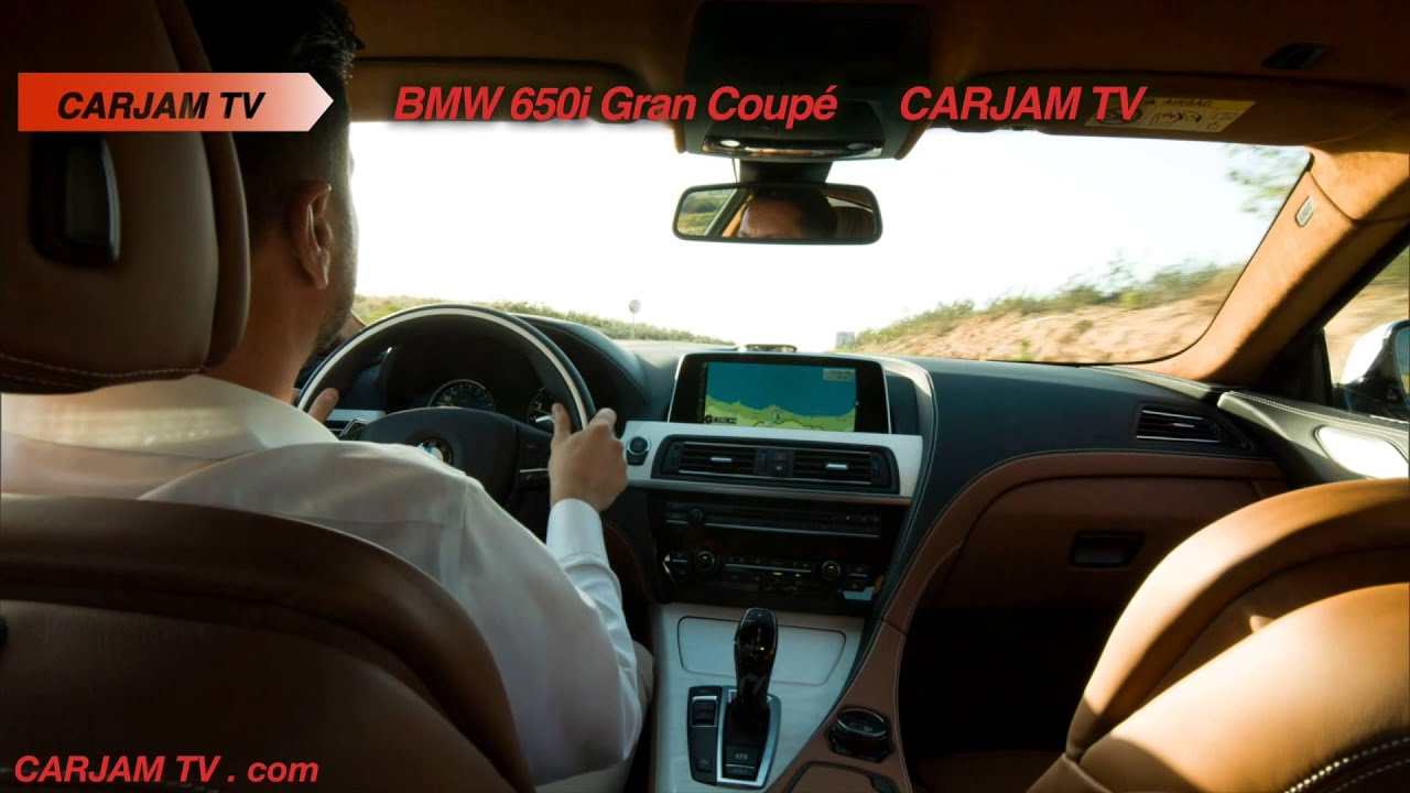 BMW 6 Series Gran Coupe INTERIOR 2015 New 650i F06 Commercial CARJAM TV 4K