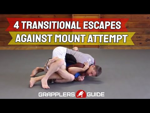 4 Transitional Escapes Against Opponents Mount Attempt From Top - Jason Scully