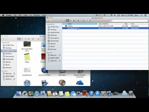 How to Transfer Applications From Mac Onto an External Drive