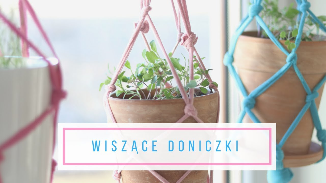 Jak Zrobić Wiszące Donice Diy Uprawa Warzyw I Ziół W Domu