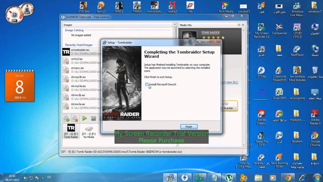 how to download and install tomb raider tpb - YouTube