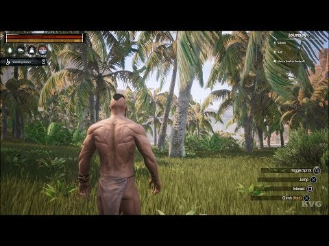 Conan Exiles Gameplay (PS4 HD) [1080p60FPS]