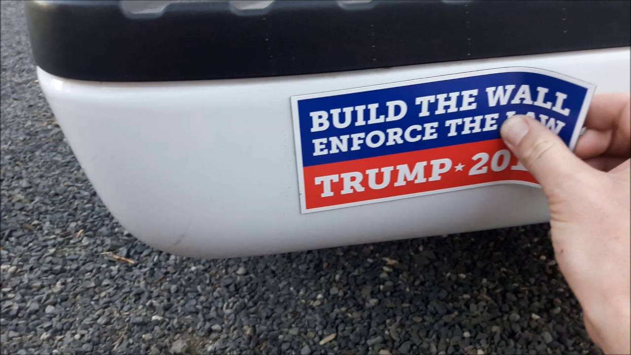Trump Bumper Sticker How To Avoid Getting Your Vehicle Keyed For Having A Pro Trump Bumper Sticker