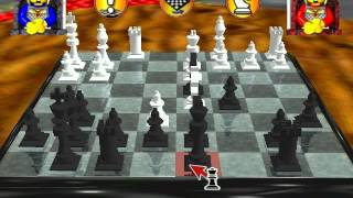 Lego Chess (PC): Me (Black) vs. CPU (White)