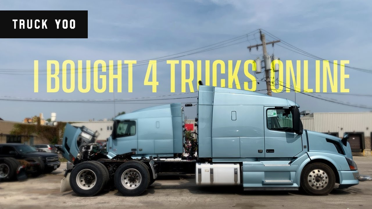 I bought 4 trucks out of state. Now what. Volvo D13 Truck