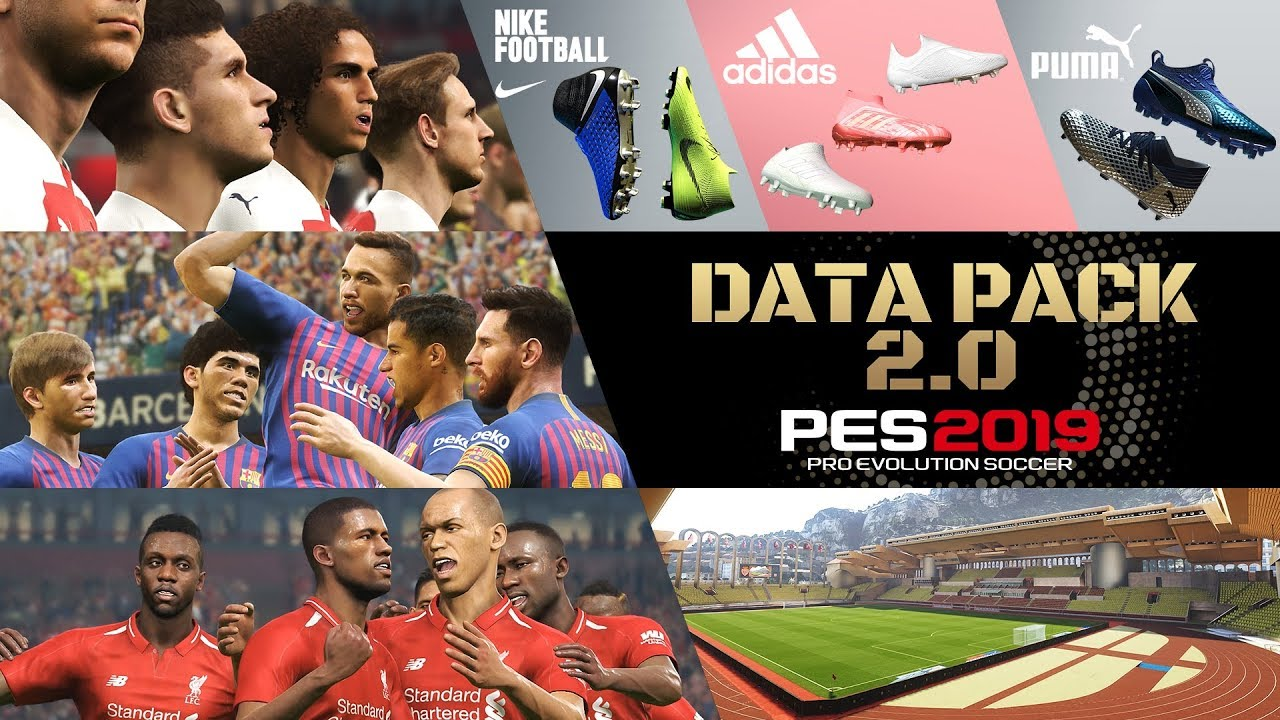 Data Pack 2 0 now available! | PES - PRO EVOLUTION SOCCER 2019