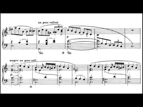 Richard Wagner - Ein Albumblatt WWV 94 (with sheet music)
