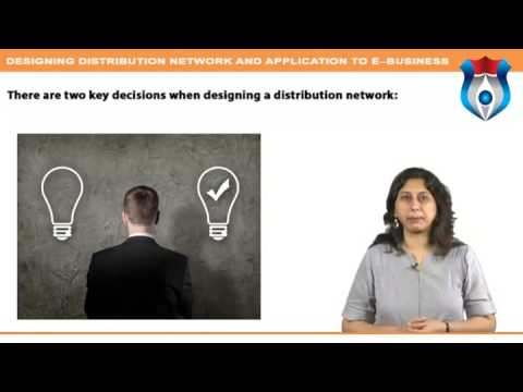 Designing distribution Network and Application to E--Business  new