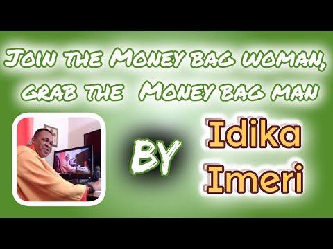 Join the Money bag woman, grab the Money bag man