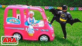 نيكيتا وسيارته الوردية   مغامرات الأطفال