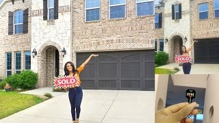 I BOUGHT A HOME!!!!  [UNFURNISHED HOUSE TOUR]