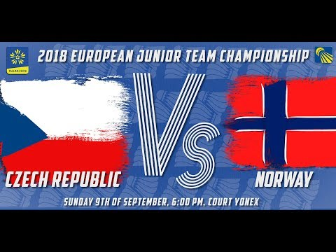Czech Republic vs Norway - Day 3 - 2018 European Jnr. Team C'ships