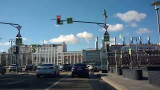 . Вокруг Московского Кремля. Поездка в автомобиле от Делимобиля