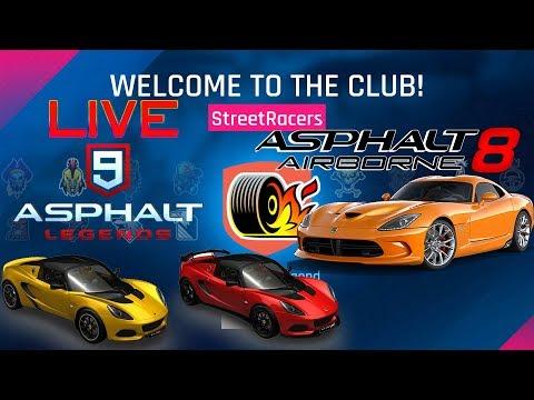 Asphalt 8 & 9 Gameplay PC: Career-Euro Motors, Multiplayer, Events & More