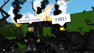 MY HOUSE SET ON FIRE! (Roblox Bloxburg Roleplay)