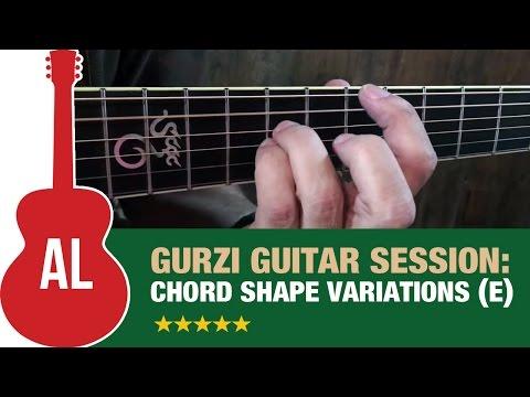 Chord Shape Variations (Key of E)