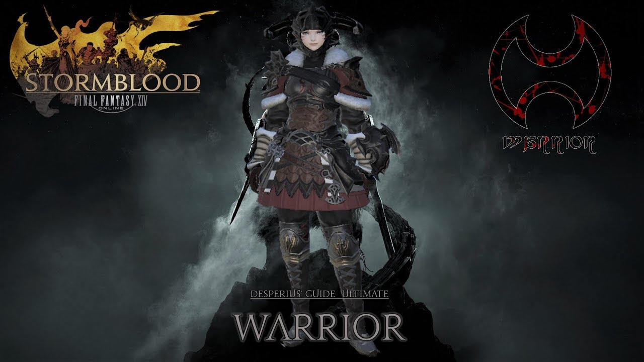 FFXIV - Ultimate Warrior/WAR guide (Patch 4 58)