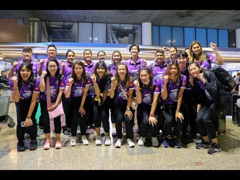 2561-05-25 ทีมชาติไทย เดินทางกลับมาถึงดอนเมือง