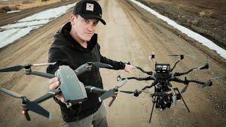 DJI Pro vs Real Professional Cinema Drone