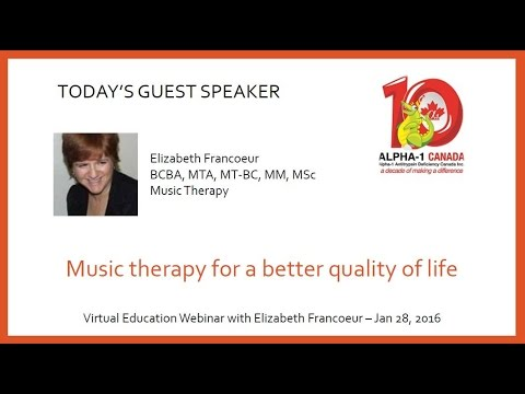 Music Therapy for a Better Quality of Life