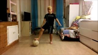 Cristiano Ronaldo da piccolo..Vincent 8 anni video  tutorial corda kick boxe grond move