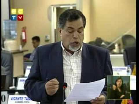 Asambleísta  Hector Gomez
